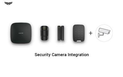 Biztonsági kamerák csatlakoztatása az Ajax rendszerhez