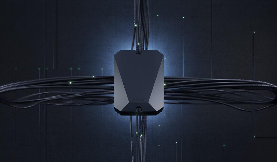 MultiTransmitter: a vezetékes riasztás és az okostelefonon keresztüli biztonsági vezérlés összekötője